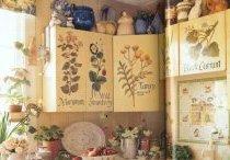 декупаж меблів на кухні