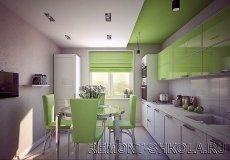 Дизайн кухні однокімнатної квартири