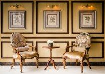 фото вітальні в класичному стилі