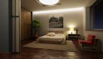 фото спальні і японському стилі