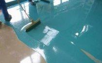 Фарба для підлоги в гаражі