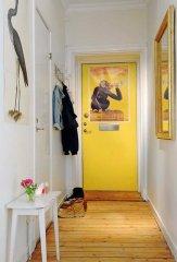 Підлогове покриття поперек коридору - фото