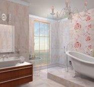 Оздоблення стін у ванній варіанти