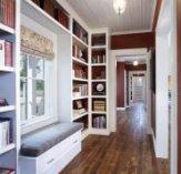 Приклад контрасту стін і підлоги в прихожей