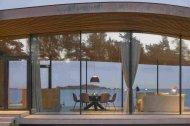 Скляний будинок для літнього відпочинку