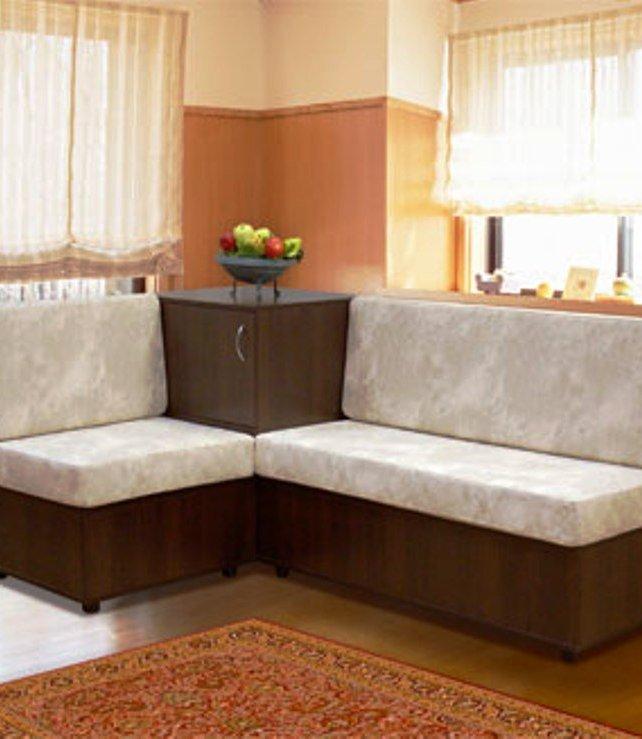 Кутовий диван на кухню своїми